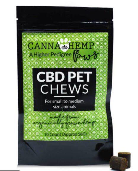 Canna Hemp Pet Chews 10 Count