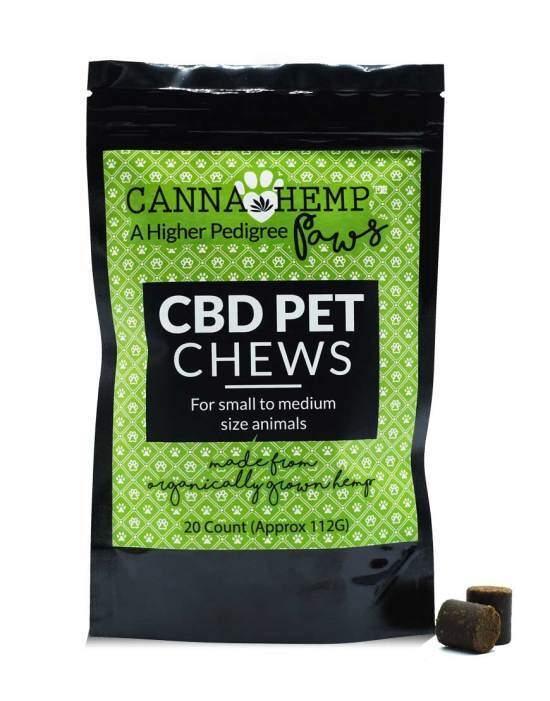 Canna Hemp Pet Chews 20 count