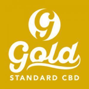 Gold Standard CBD logo - gold