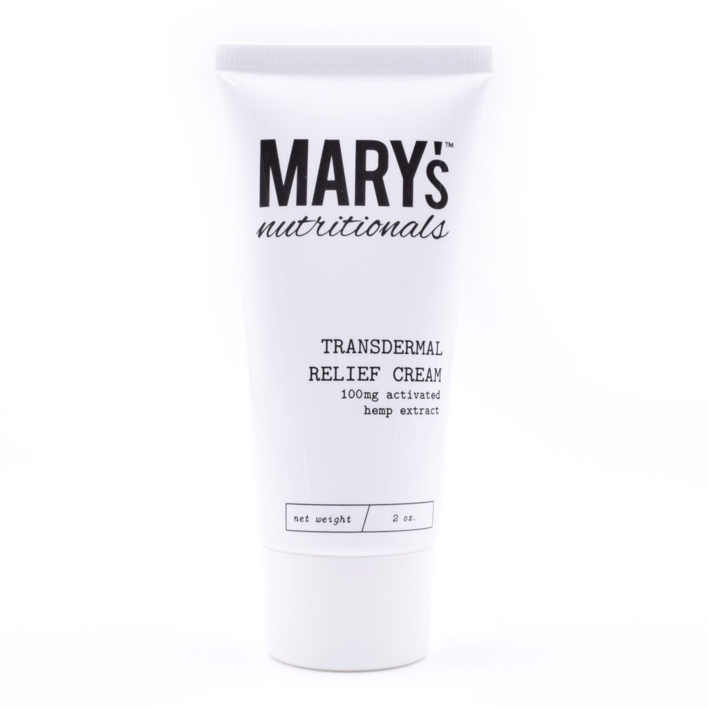 Marys Nutritionals Transdermal Relief Cream