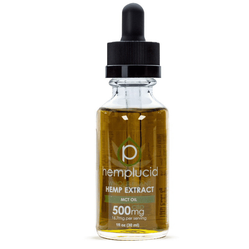 HempLucid 500mg MCT Oil