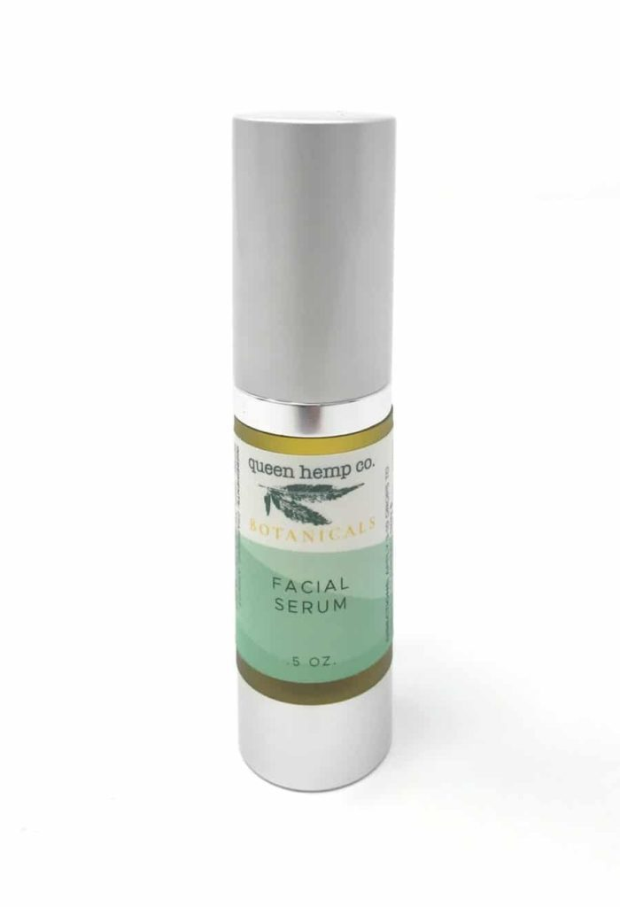 Queen Hemp Botanicals Facial Serum