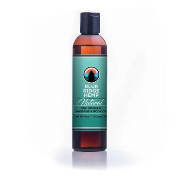 blue ridge hemp massage oil