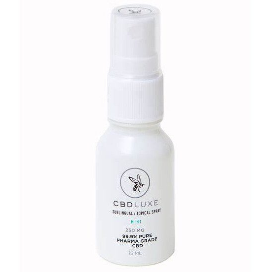 cbd luxe spray mint 250 mg