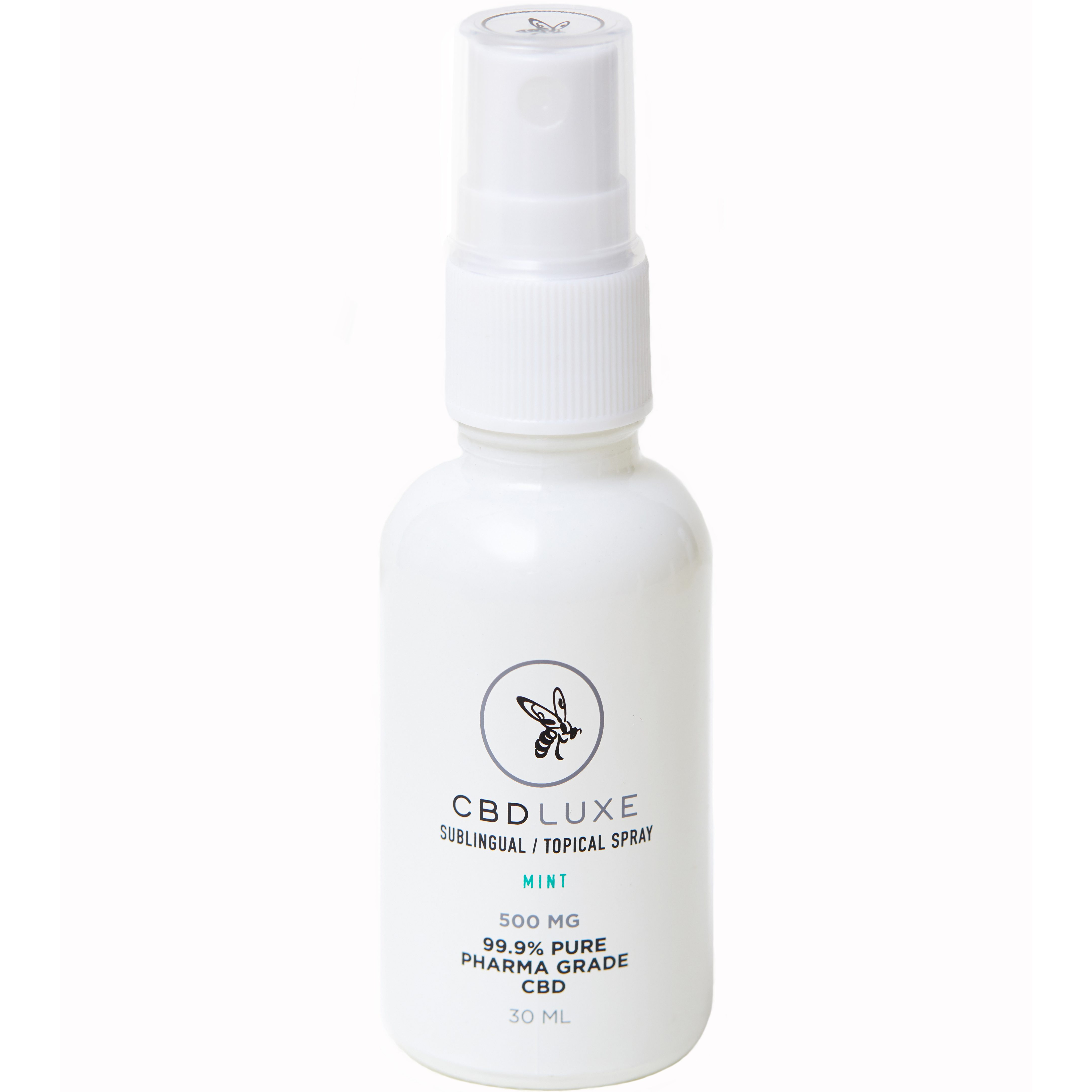 cbd luxe spray mint 500 mg