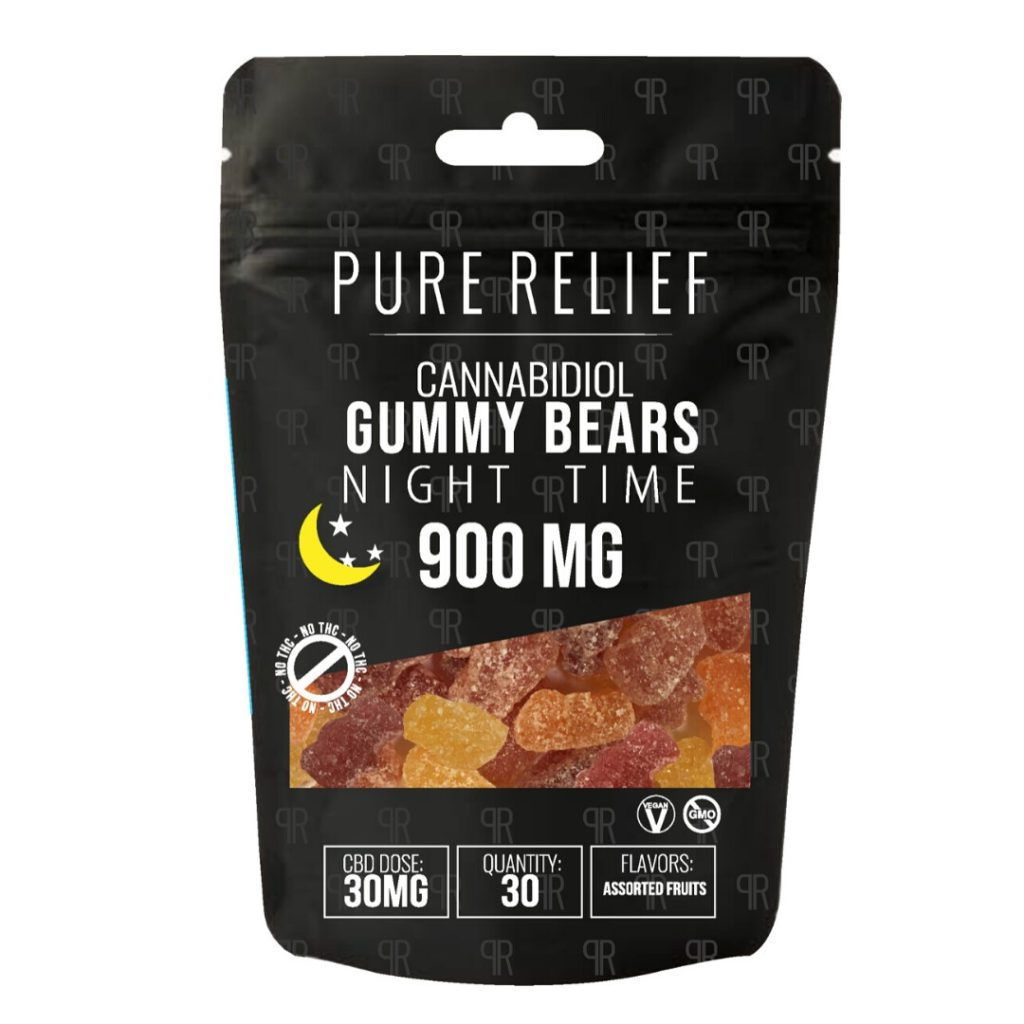 Pure Relief Nighttime Gummies
