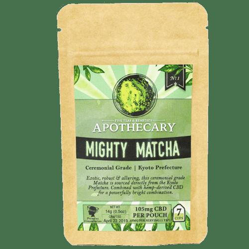The Brothers Apothecary Mighty Matcha Hemp CBD Tea - Front