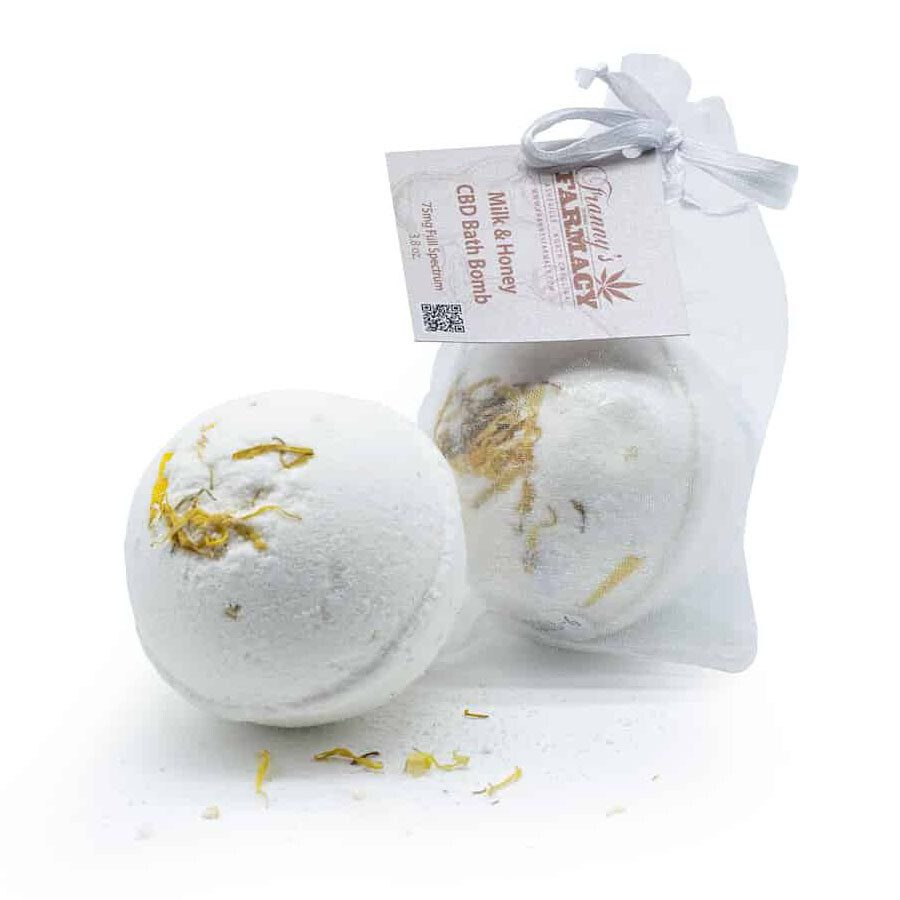 frannys farmacy bath bomb milk honey