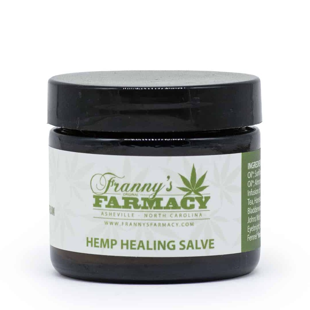 frannys farmacy hemp healing salve