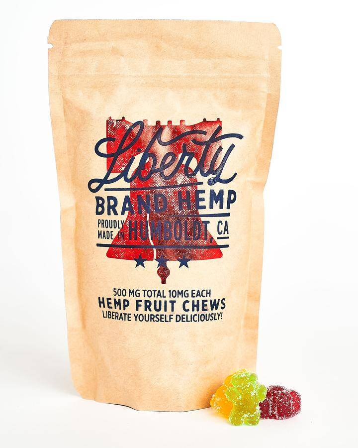 hemp fruit chews
