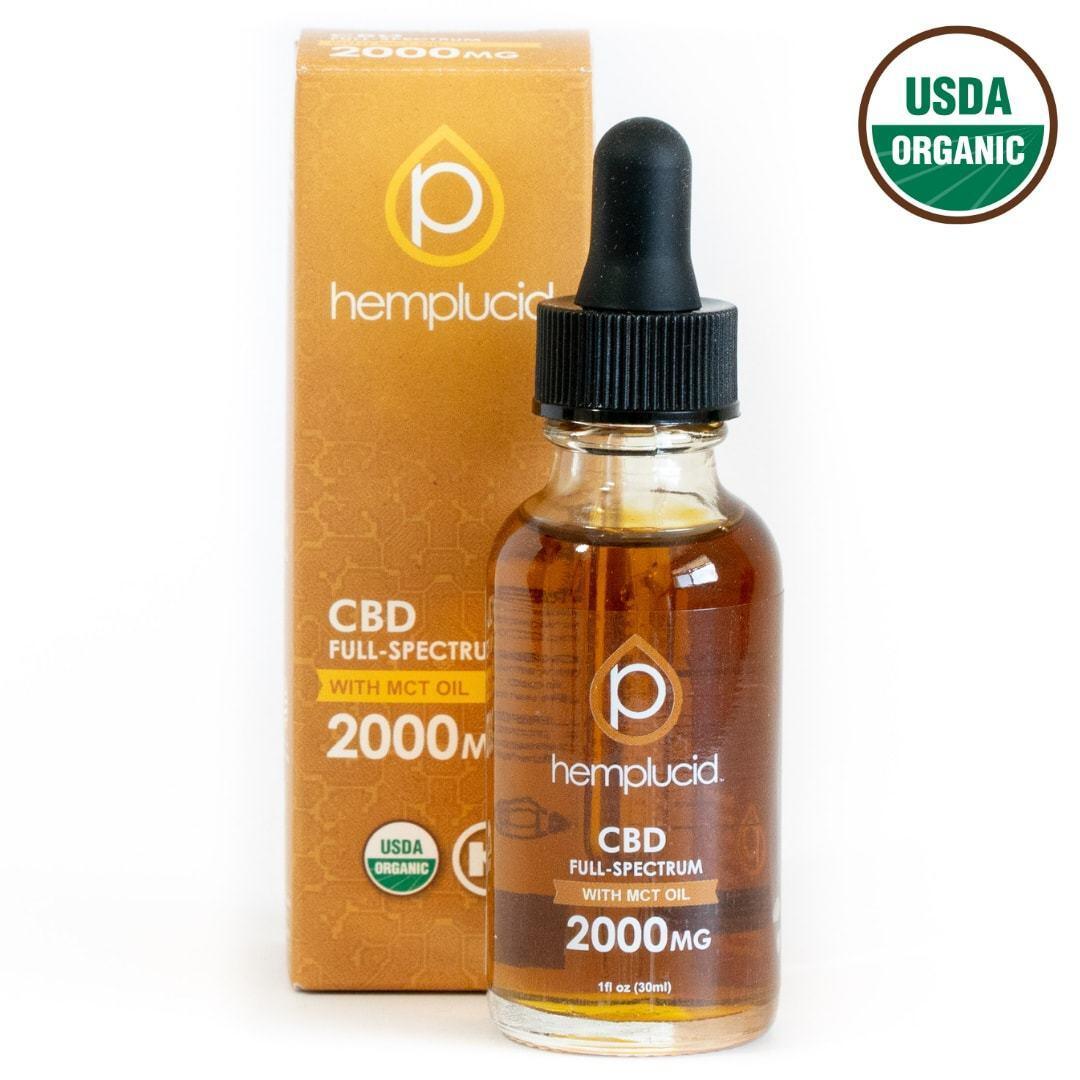 HempLucid Full-Spectrum CBD Tincture in MCT Oil (2000 mg CBD)