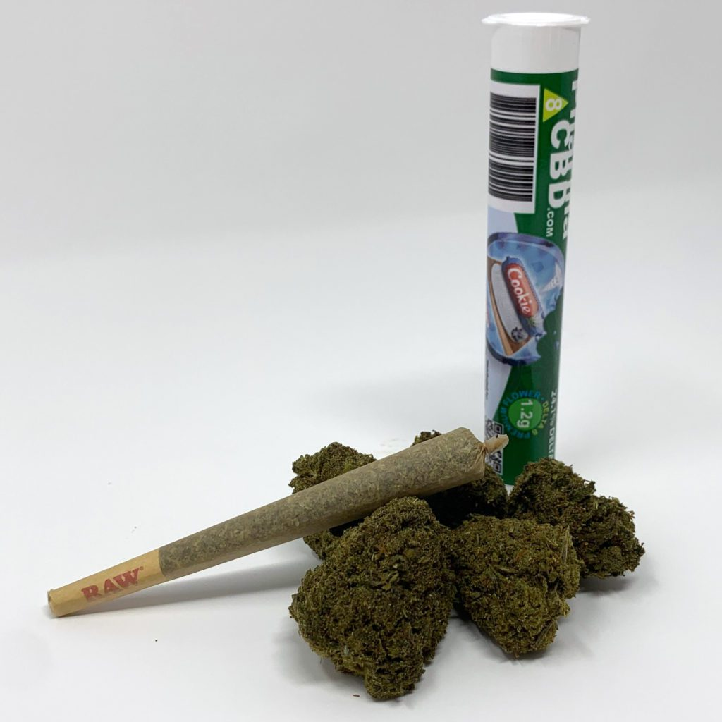 PharmaCBD Delta-8-THC Infused Pre-Roll - Cookie Dough