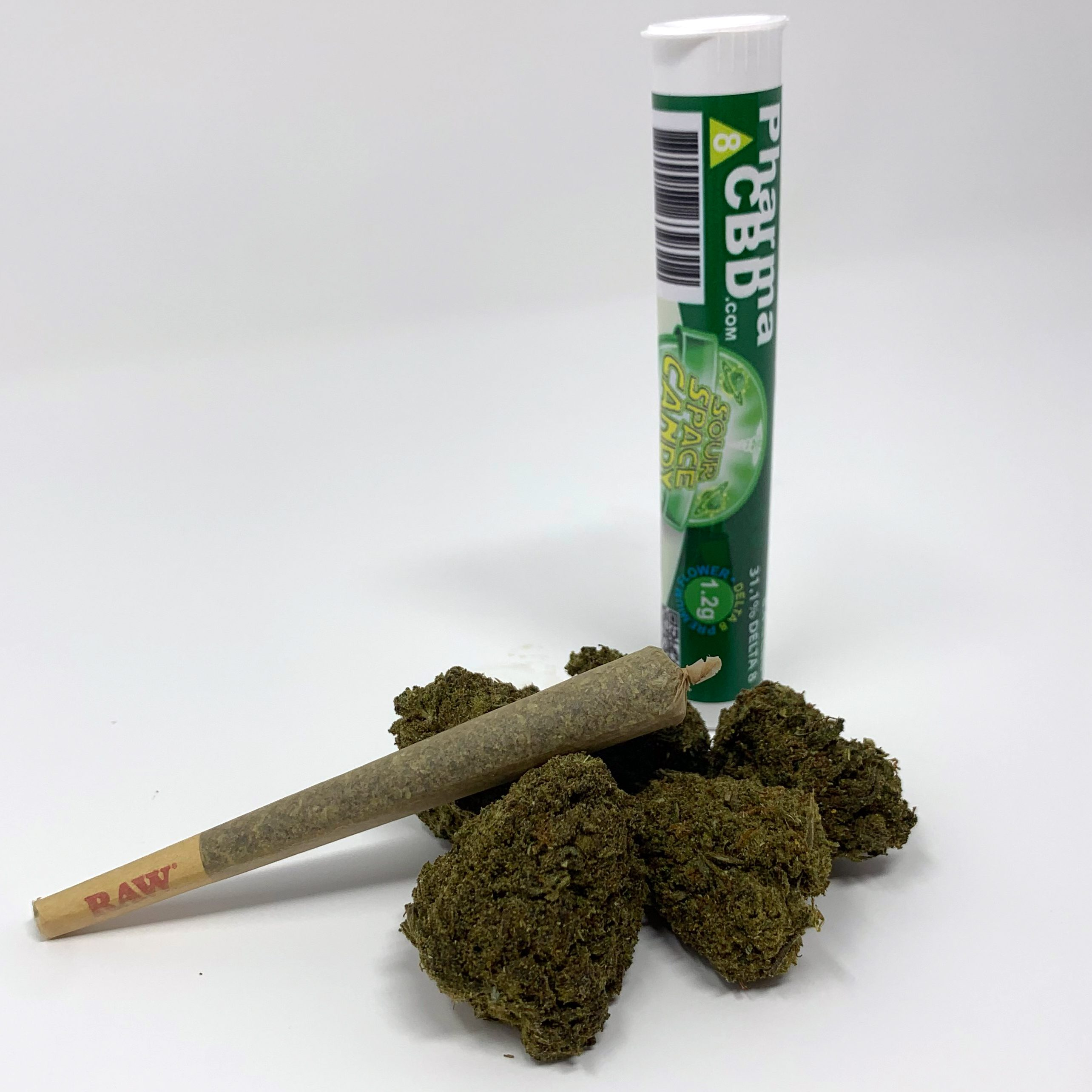 PharmaCBD Delta-8-THC Infused Pre-Roll - Sour Space Candy