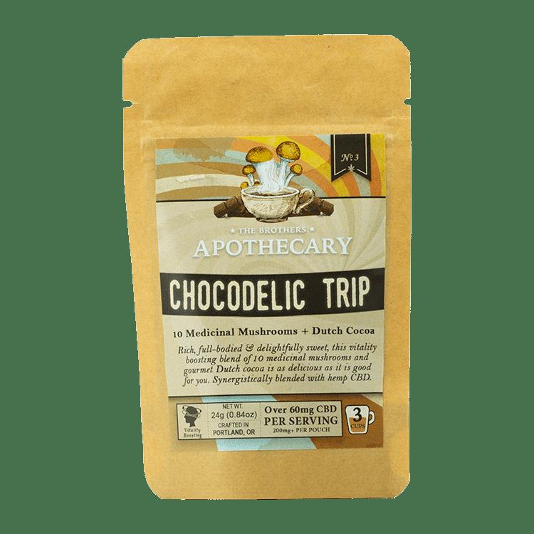 The Brothers Apothecary Chocodelic Trip Hemp CBD Hot Cocoa - Front